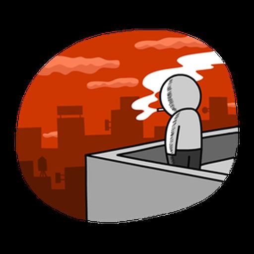 Working man - Sticker 9