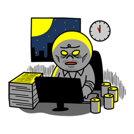 Working man - Sticker 21
