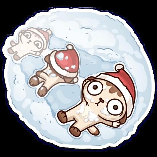 ЛУНА Зима - Sticker 24