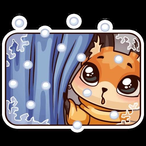 ЛУНА Зима - Sticker 23