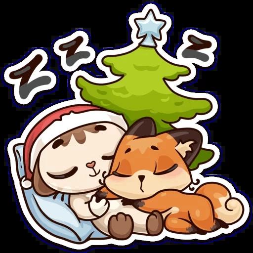 ЛУНА Зима - Sticker 9