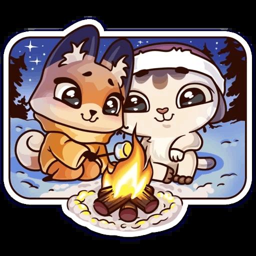 ЛУНА Зима - Sticker 26