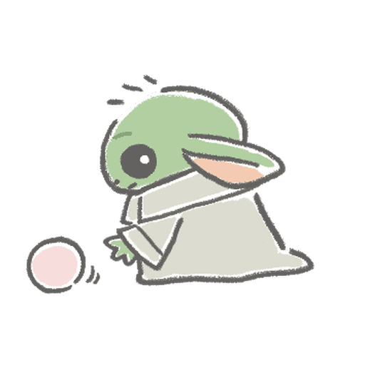 BB Yoda - Sticker 15