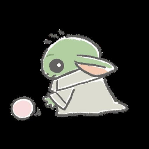 BB Yoda - Sticker 15