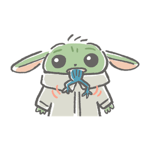 BB Yoda - Sticker 9