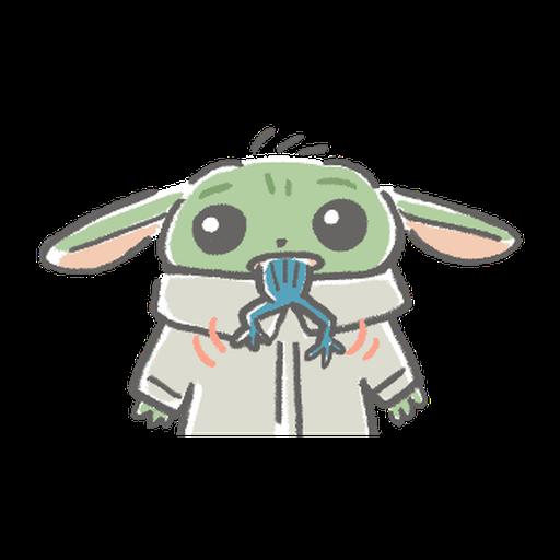 BB Yoda - Sticker 9