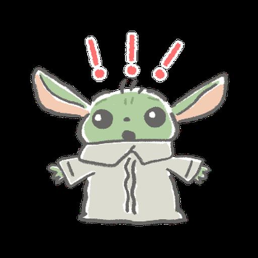 BB Yoda - Sticker 23