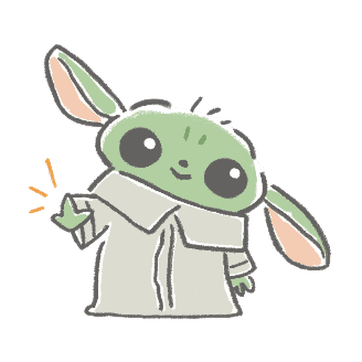 BB Yoda - Sticker 19