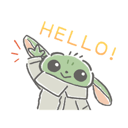 BB Yoda - Sticker 8