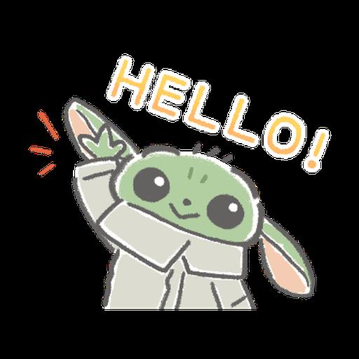 BB Yoda - Sticker 8