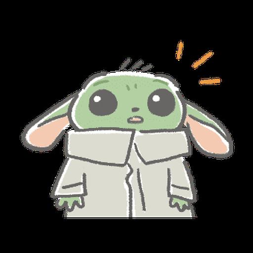 BB Yoda - Sticker 16