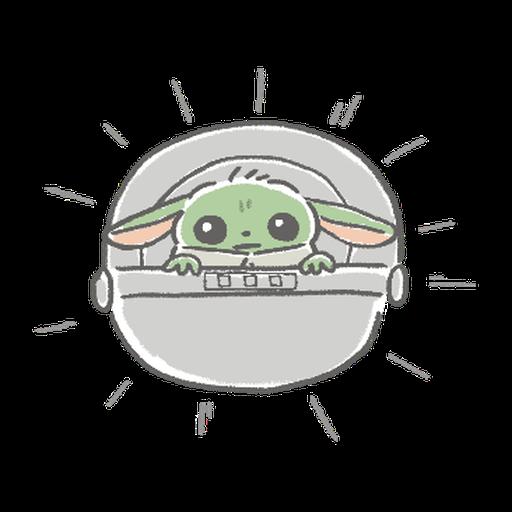 BB Yoda - Sticker 10