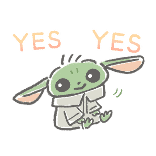 BB Yoda - Sticker 6