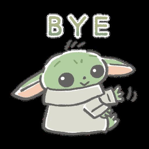 BB Yoda - Sticker 21