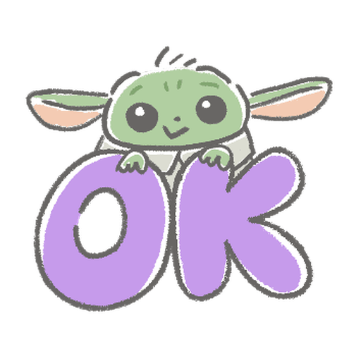 BB Yoda - Sticker 1