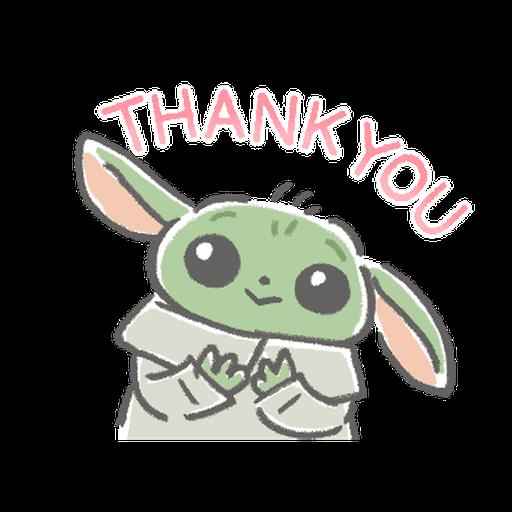 BB Yoda - Sticker 3