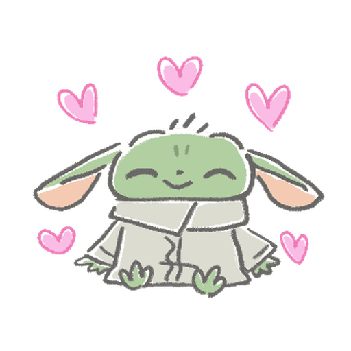BB Yoda - Sticker 2