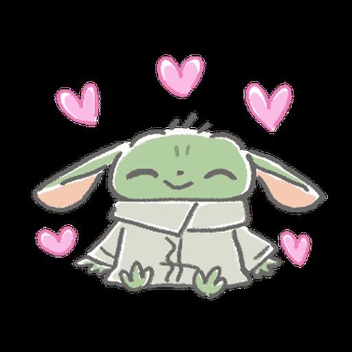 BB Yoda - Sticker 2
