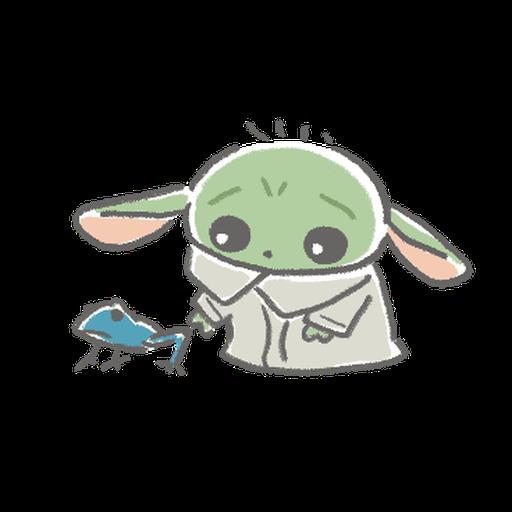 BB Yoda - Sticker 7