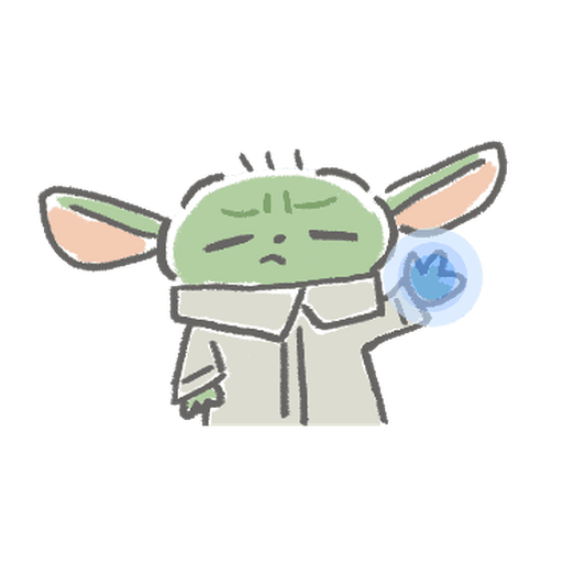 BB Yoda - Sticker 12