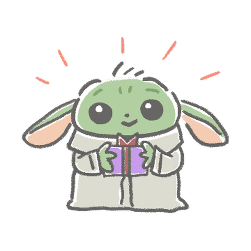 BB Yoda - Sticker 17