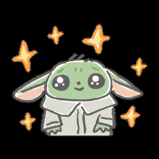 BB Yoda - Sticker 11