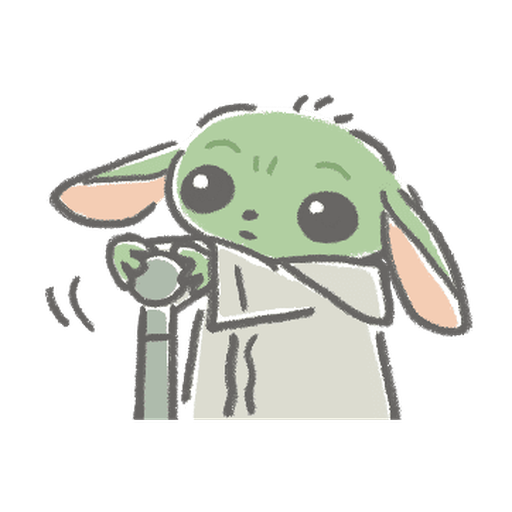 BB Yoda - Sticker 24