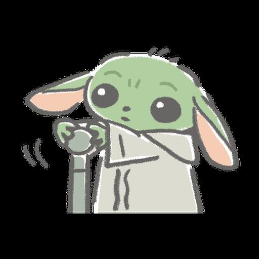 BB Yoda - Sticker 24
