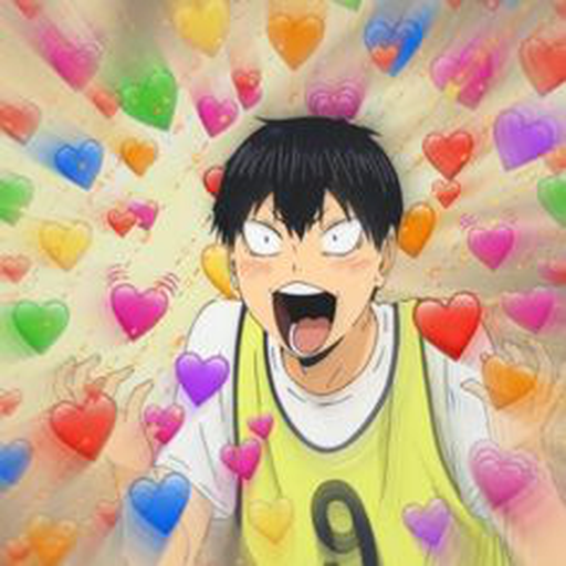 Haikyuu reaction <3 - Sticker 9
