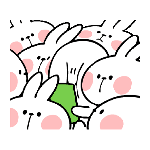 Spoiled Rabbit You-2 - Sticker 23