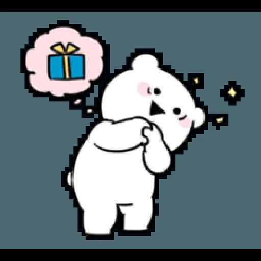 Extremely little rabbit & bear - Sticker 16