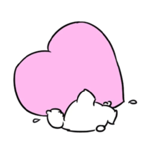 Extremely little rabbit & bear - Sticker 24