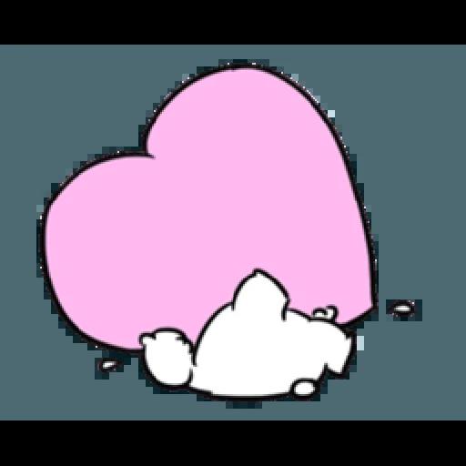 Extremely little rabbit & bear - Sticker 24