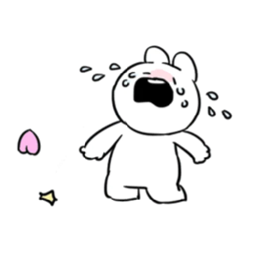 Extremely little rabbit & bear - Sticker 18