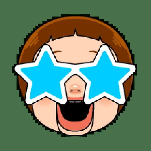 Sho chan doll head 1 - Sticker 13