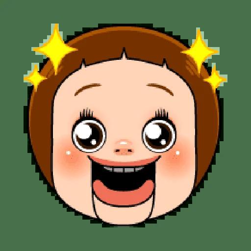 Sho chan doll head 1 - Sticker 4