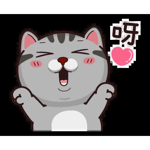 Fucking cat - Sticker 7