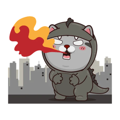 Fucking cat - Sticker 15