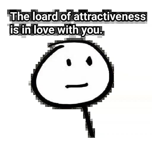Attractiveness RemasteredV2 By SkULL - Sticker 14