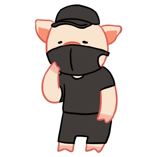 LinPig - Sticker 12