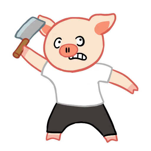 LinPig - Sticker 10