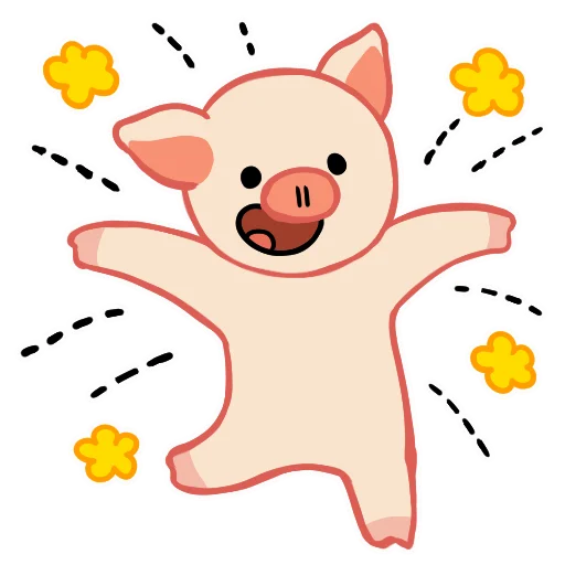 LinPig - Sticker 3