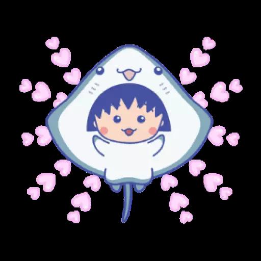 小丸子 - Tray Sticker