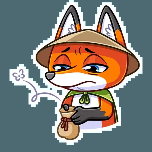 Samurai Fox - Sticker 29