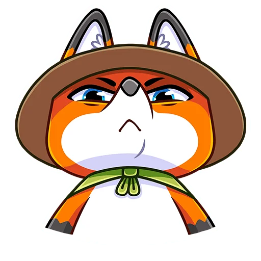 Samurai Fox - Sticker 7