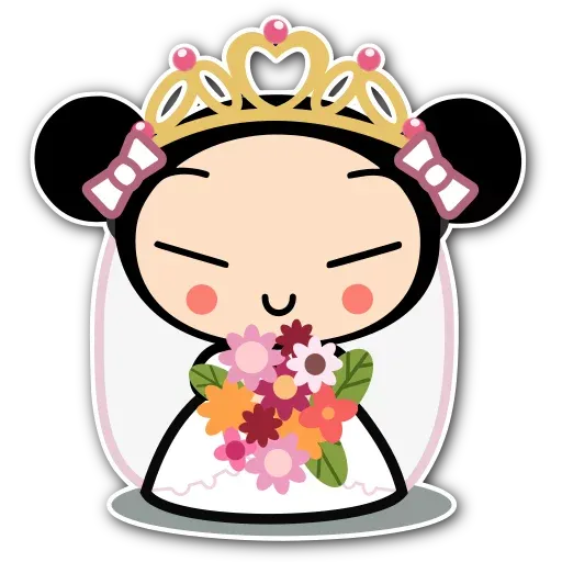 Pucca - Sticker 1