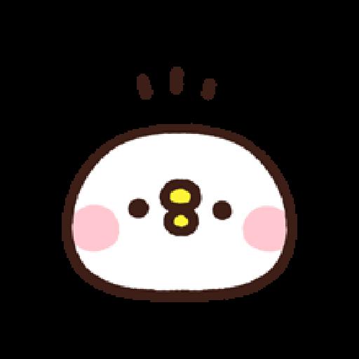 P助兔兔表情貼 3 - Sticker 1