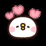 P助兔兔表情貼 3 - Tray Sticker