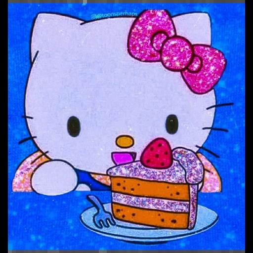 glitter cartoon - Sticker 15