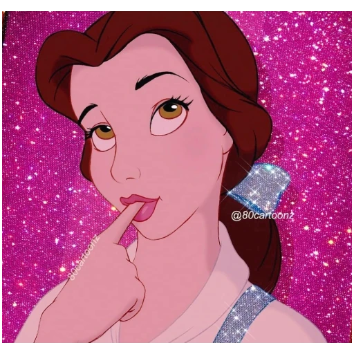 glitter cartoon - Sticker 12